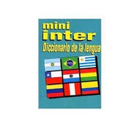 DICCIONARIO ESCOLAR INTER MINI (x U.)
