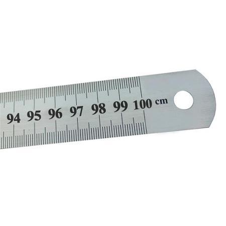 REGLA ACERO MOTEX 100CM (x U.)