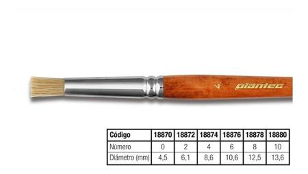 PINCEL PLANTEC TAPONADOR CERDA N 2 (x U.)