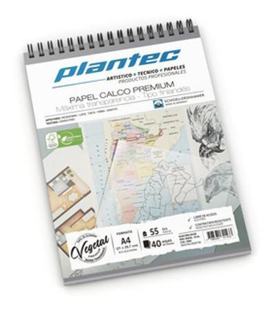 BLOCK PLANTEC CALCO A4 40H 55GR  (x U.)