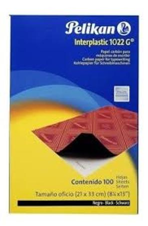 PAPEL CARBONICO PELIKAN ECO X100 NE (x caj.)