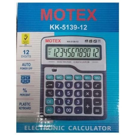 CALCULADORA MOTEX ESCRITORIO CA1227 12DIG (x U.)