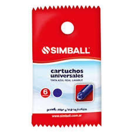 CARTUCHO LAPICERA SIMBALL X6 (x U.)
