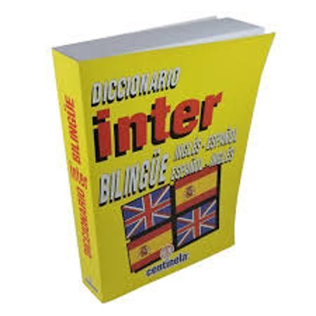 DICCIONARIO INTER INGLES ESPAÑOL (x U.)