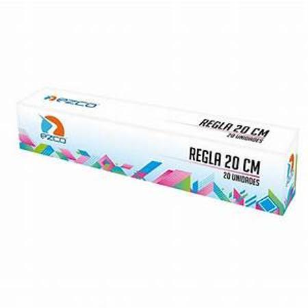 REGLA EZCO 20CM (x U.)