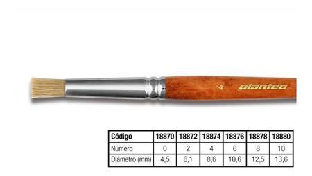 PINCEL PLANTEC TAPONADOR CERDA N 4 (x U.)