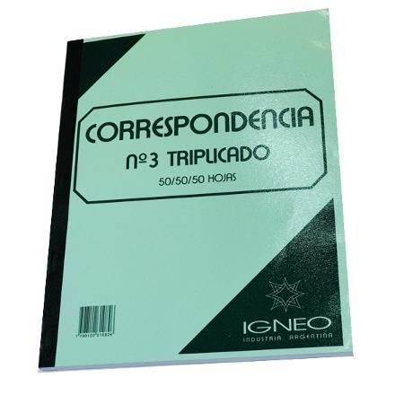 CORRESPONDENCIA IGNEO 3 50X50X50 HS (x U.)