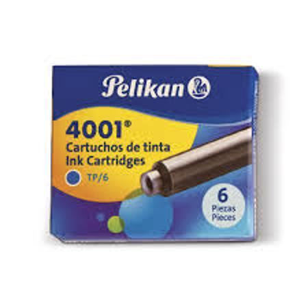CARTUCHO LAPICERA PELIKAN X6 (x U.)