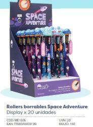 ROLLER BORRABLE WERO SPACE ADVENTURE / WILD FOXIES (x U.)