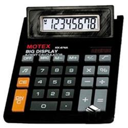 CALCULADORA MOTEX 676A-8DIG (x U.)