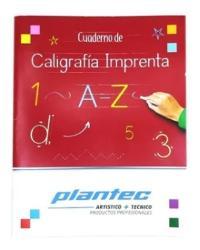 CUADERNO CALIGRAFIA PLANTEC 9931 IMPRENTA (x U.)