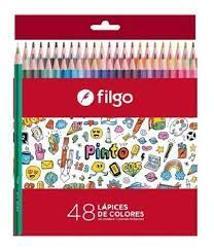 LAPIZ COLOR FILGO X48 (x U.)