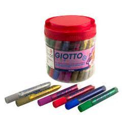 ADHESIVO GLITTER GIOTTO 10ML RO (x U.)