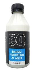 BARNIZ Y DILUYENTE BRILLANTE EQ 250ML
