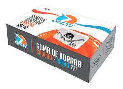 GOMA BORRAR EZCO BL (x U.)