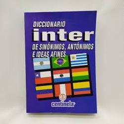 DICCIONARIO ESCOLAR SINONIMOS  (x U.)