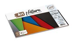 CARTULINA PLANTEC ART NATURE COLOR A4  90GR 10H (x paq.)